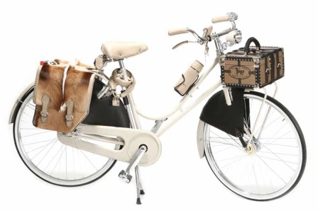 Bicicleta da Fendi